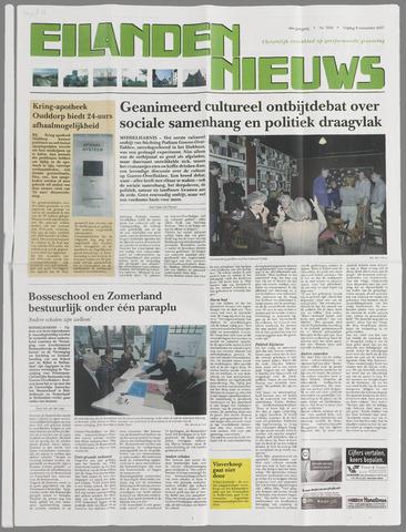 Eilanden-nieuws. Christelijk streekblad op gereformeerde grondslag 2007-11-09