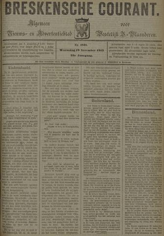 Breskensche Courant 1913-11-19