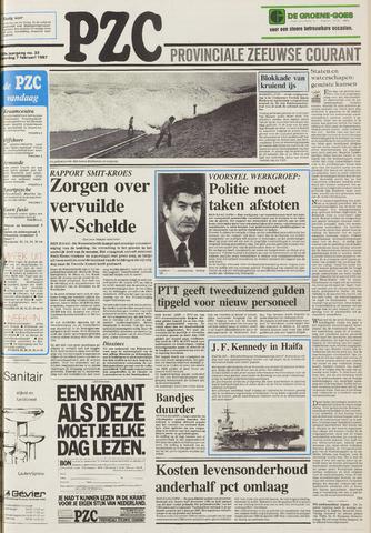 Provinciale Zeeuwse Courant 1987-02-07