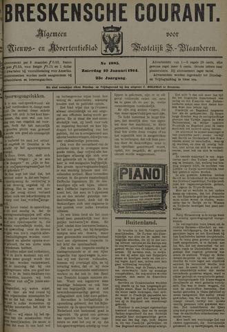 Breskensche Courant 1914-01-10