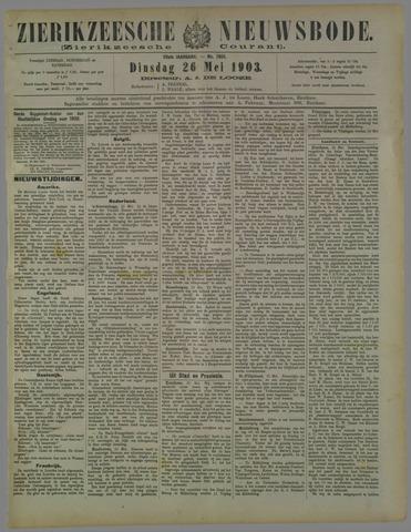 Zierikzeesche Nieuwsbode 1903-05-26