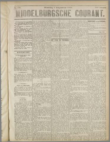 Middelburgsche Courant 1922-08-01