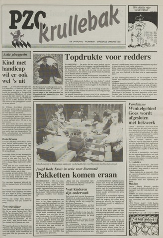 Provinciale Zeeuwse Courant katern Krullenbak (1981-1999) 1990