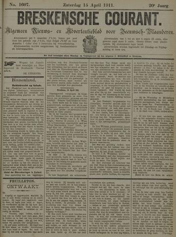 Breskensche Courant 1911-04-15