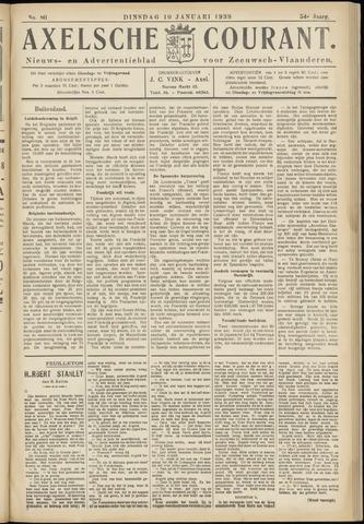 Axelsche Courant 1939-01-10