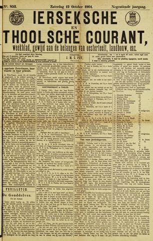 Ierseksche en Thoolsche Courant 1901-10-12
