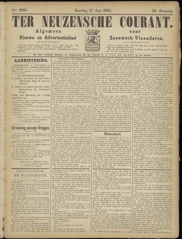 Ter Neuzensche Courant. Algemeen Nieuws- en Advertentieblad voor Zeeuwsch-Vlaanderen / Neuzensche Courant ... (idem) / (Algemeen) nieuws en advertentieblad voor Zeeuwsch-Vlaanderen 1885-06-27