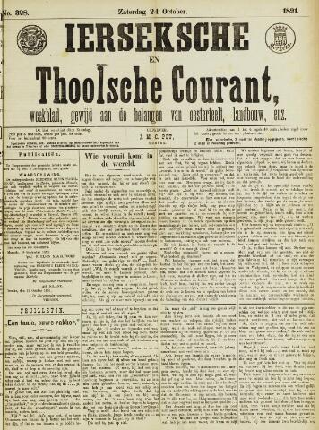 Ierseksche en Thoolsche Courant 1891-10-24
