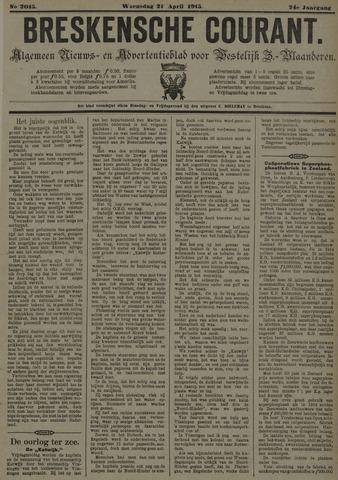 Breskensche Courant 1915-04-21