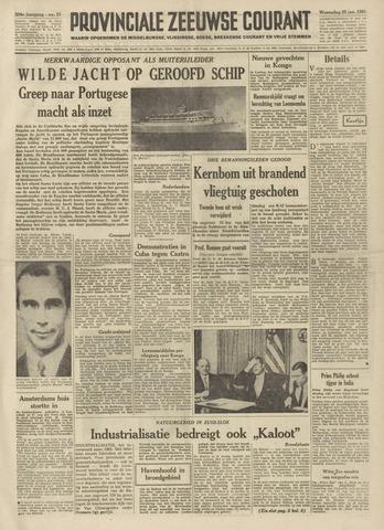 Provinciale Zeeuwse Courant 1961-01-25
