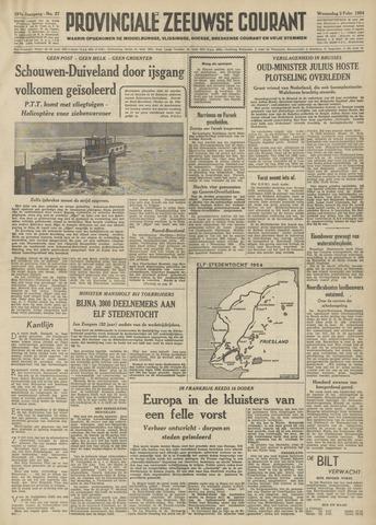 Provinciale Zeeuwse Courant 1954-02-03