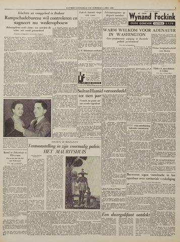 Watersnood documentatie 1953 - kranten 1953-04-08