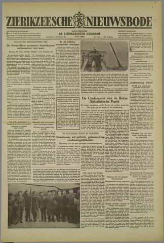 Zierikzeesche Nieuwsbode 1952-10-06