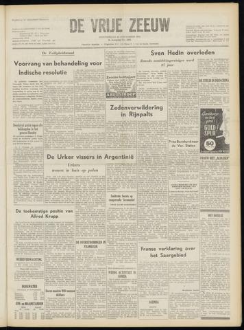 de Vrije Zeeuw 1952-11-27