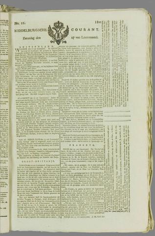 Middelburgsche Courant 1810-01-27