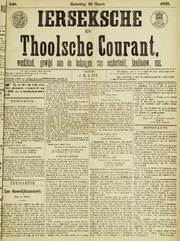 Ierseksche en Thoolsche Courant 1892-03-12