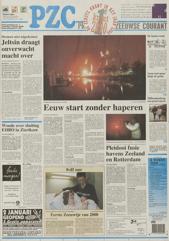 Provinciale Zeeuwse Courant 2000-01-02