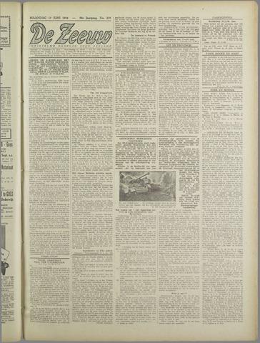 De Zeeuw. Christelijk-historisch nieuwsblad voor Zeeland 1944-06-19