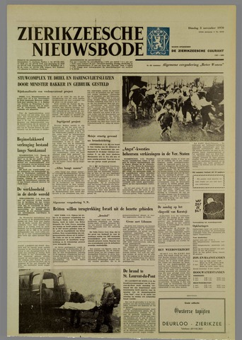 Zierikzeesche Nieuwsbode 1970-11-03