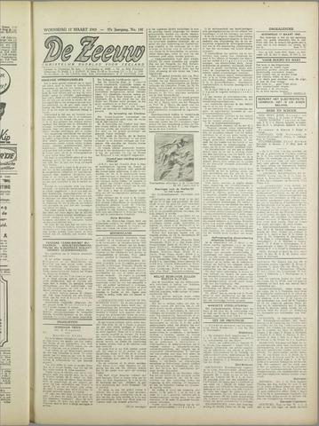 De Zeeuw. Christelijk-historisch nieuwsblad voor Zeeland 1943-03-17
