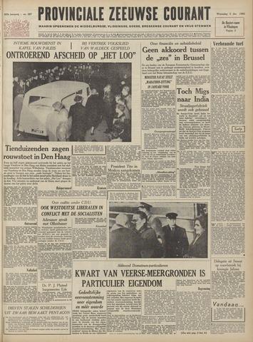 Provinciale Zeeuwse Courant 1962-12-05