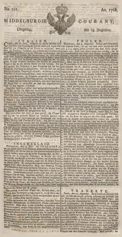 Middelburgsche Courant 1768-08-23