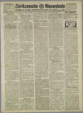 Zierikzeesche Nieuwsbode 1922-07-19
