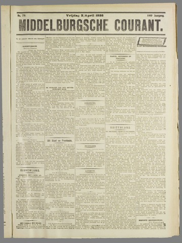 Middelburgsche Courant 1925-04-03