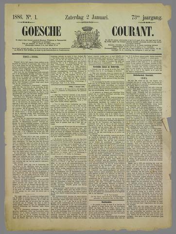 Goessche Courant 1886
