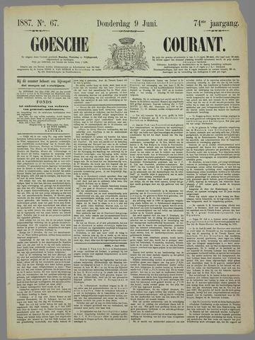 Goessche Courant 1887-06-09