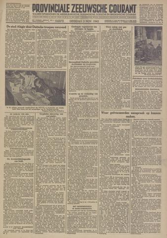 Provinciale Zeeuwse Courant 1942-11-03