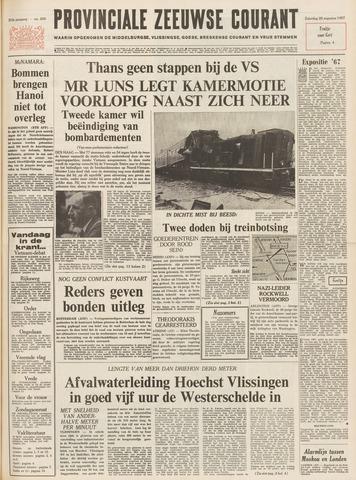 Provinciale Zeeuwse Courant 1967-08-26