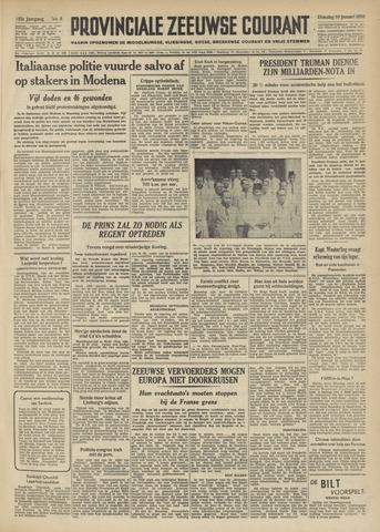 Provinciale Zeeuwse Courant 1950-01-10