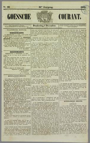 Goessche Courant 1859-12-01