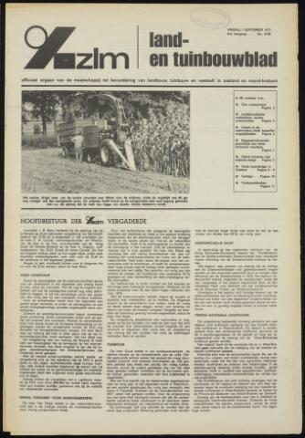 Zeeuwsch landbouwblad ... ZLM land- en tuinbouwblad 1973-09-07