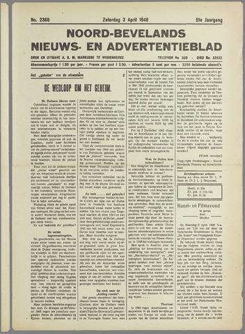 Noord-Bevelands Nieuws- en advertentieblad 1948-04-03