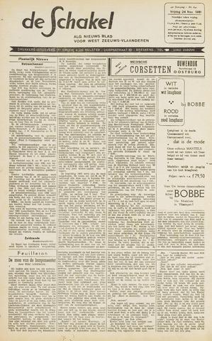 De Schakel 1961-11-24