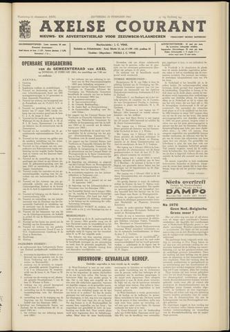 Axelsche Courant 1964-02-22