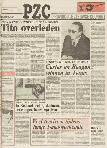Provinciale Zeeuwse Courant 1980-05-05