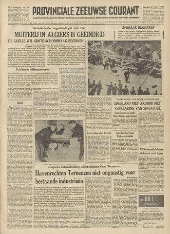 Provinciale Zeeuwse Courant 1960-02-02