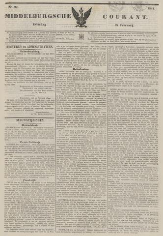 Middelburgsche Courant 1844-02-24