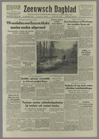 Zeeuwsch Dagblad 1957-03-25