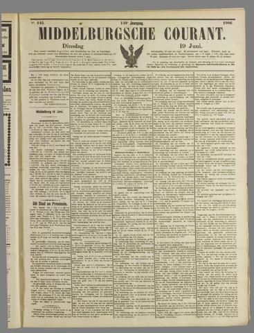 Middelburgsche Courant 1906-06-19