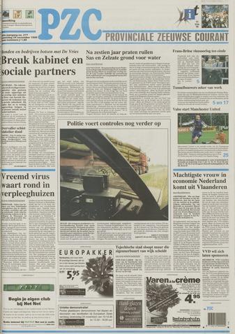Provinciale Zeeuwse Courant 1999-11-24