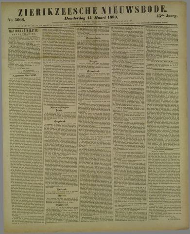 Zierikzeesche Nieuwsbode 1889-03-14