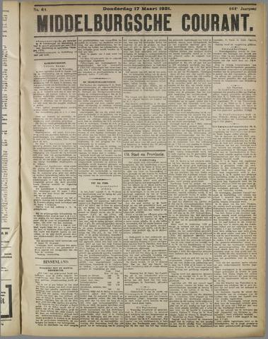 Middelburgsche Courant 1921-03-17