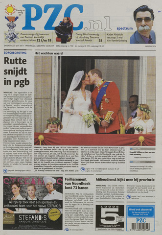 Provinciale Zeeuwse Courant 2011-04-30