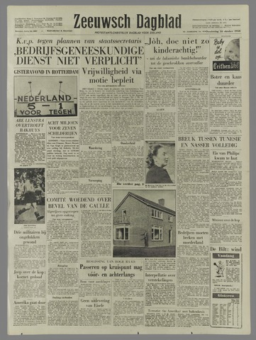 Zeeuwsch Dagblad 1958-10-16