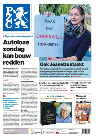 Provinciale Zeeuwse Courant 2019-11-05
