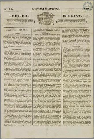 Goessche Courant 1849-08-13